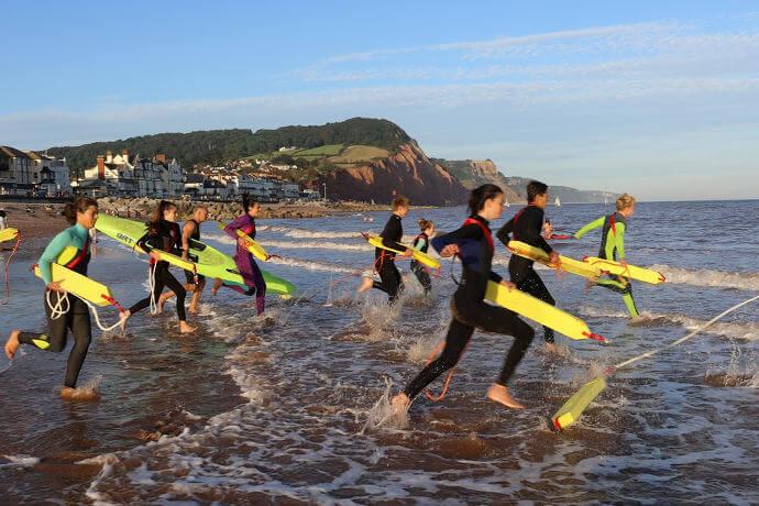 Sidmouth surf life saving club slideshow