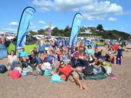 Sidmouth surf life saving club instructors