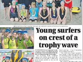 Sidmouth surf life saving club news